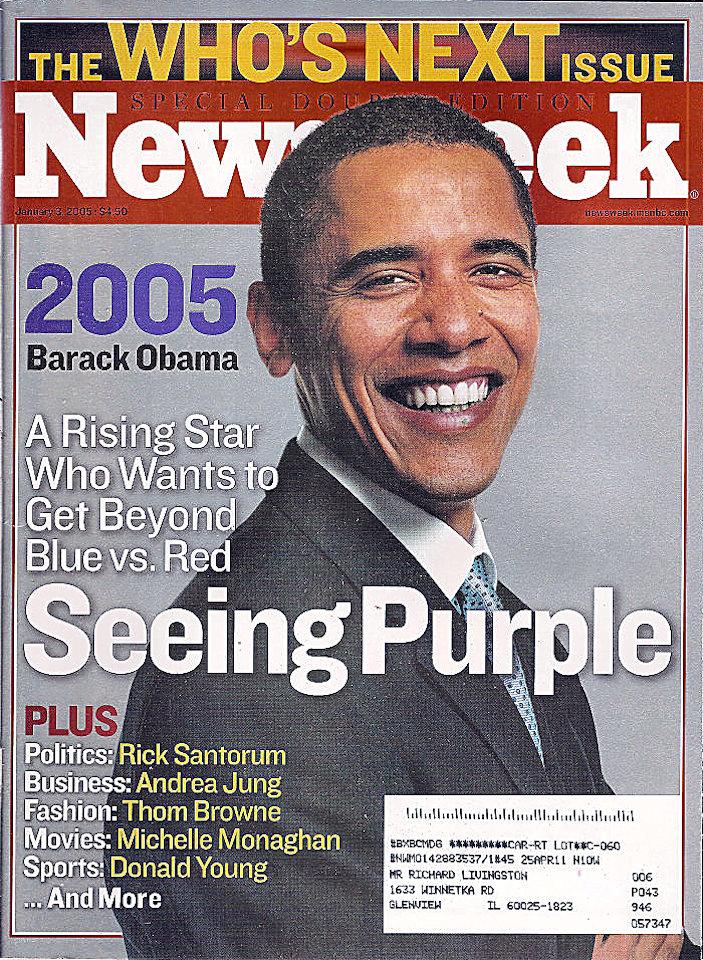 Newsweek Vol. CXLV No. 1