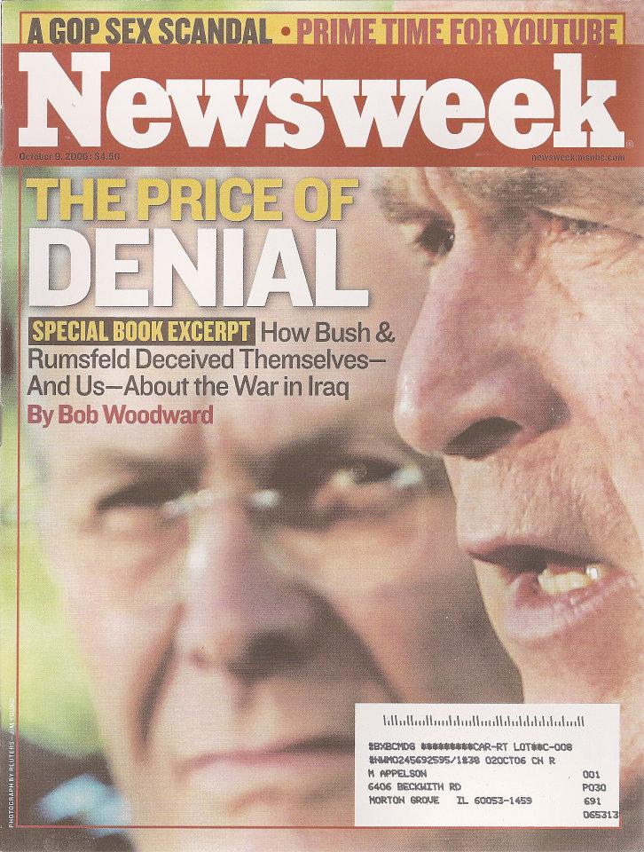 Newsweek Vol. CXLVIII No. 15