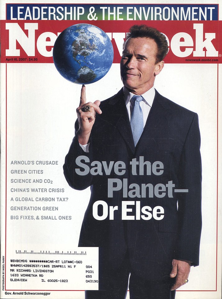Newsweek Vol. CXLX No. 16