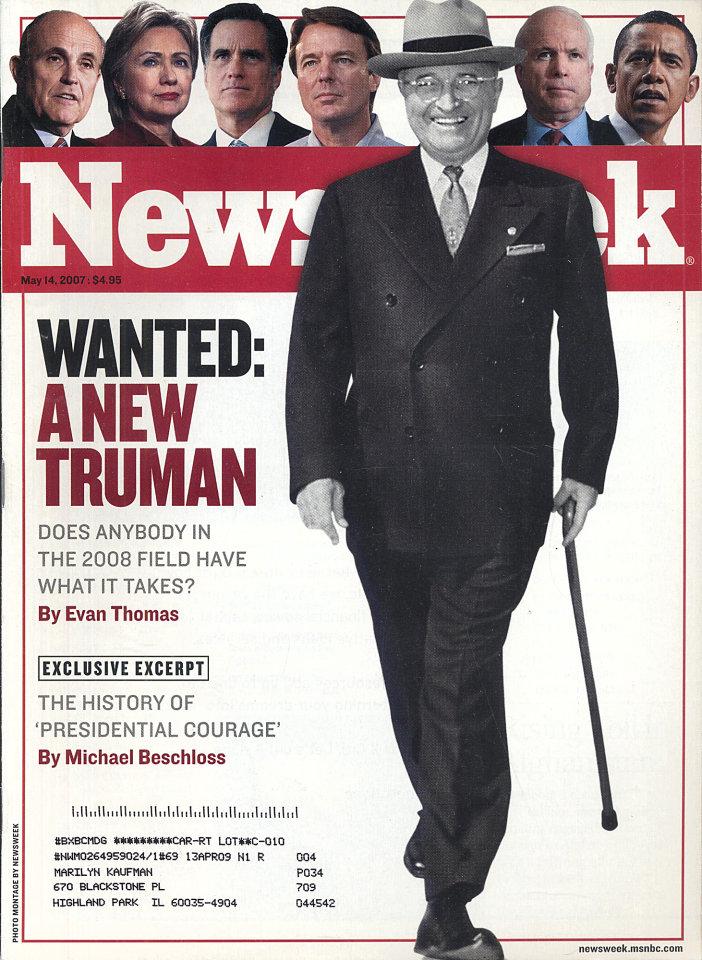 Newsweek Vol. CXLX No. 20