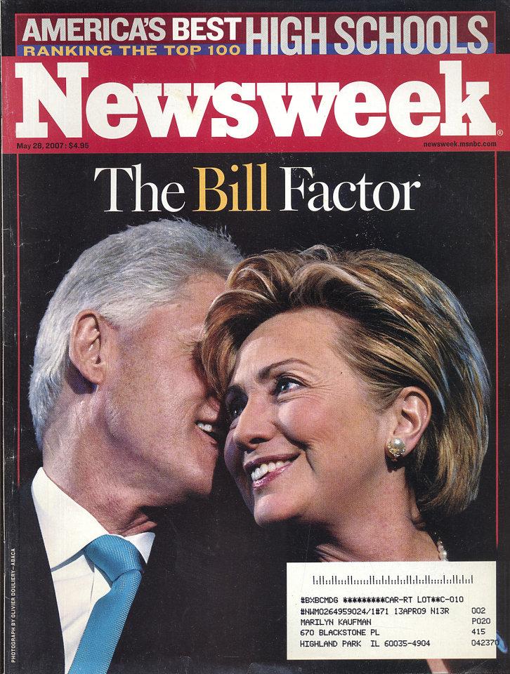Newsweek Vol. CXLX No. 22