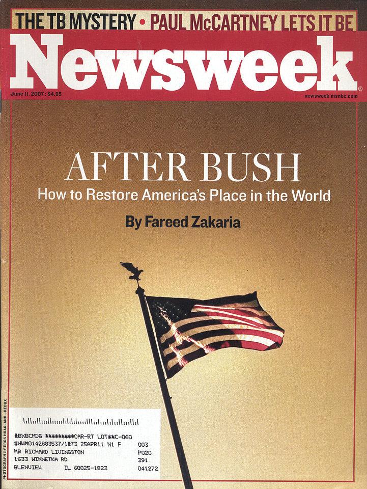 Newsweek Vol. CXLX No. 24