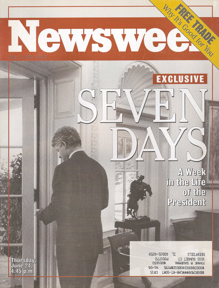 Newsweek Vol. CXXII No. 2