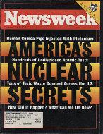 Newsweek Vol. CXXII No. 26 Magazine