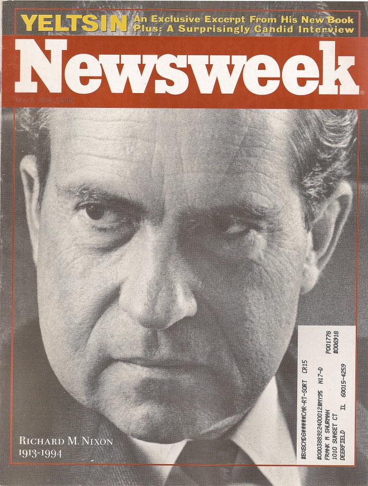 Newsweek Vol. CXXIII No. 18