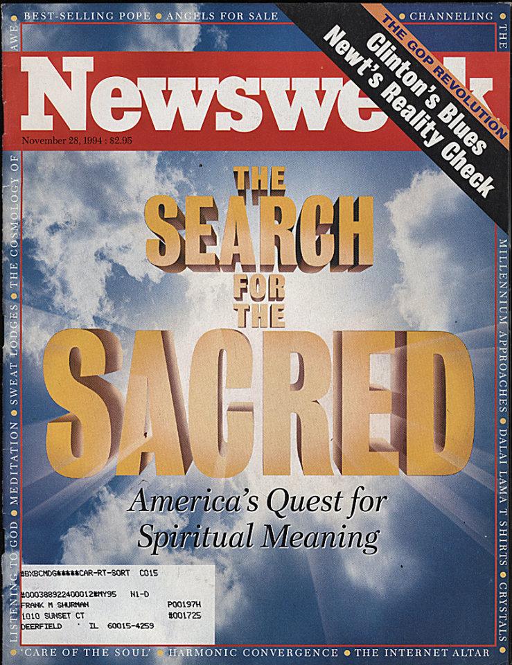 Newsweek Vol. CXXIV No. 22