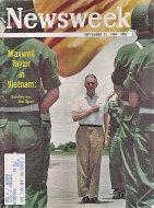 Newsweek Vol. LXIV No. 12 Magazine