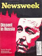 Newsweek Vol. LXXVII No. 5 Magazine