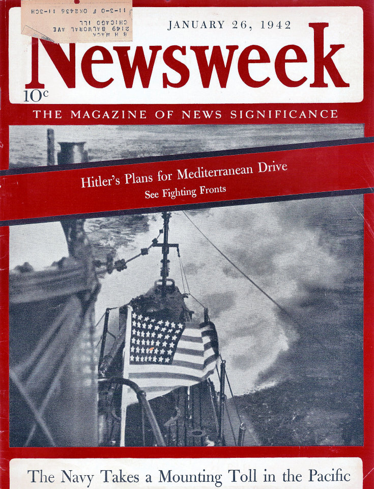 Newsweek Vol. XIX No. 4