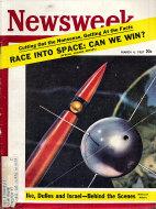 Newsweek Vol. XLIX No. 9 Magazine