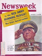 Newsweek Vol. XLVIII No. 21 Magazine