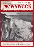 Newsweek Vol. XV No. 16 Magazine