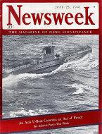 Newsweek Vol. XVII No. 25 Magazine