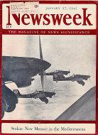 Newsweek Vol. XVII No. 4 Magazine