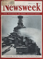 Newsweek Vol. XXI No. 10 Magazine