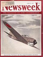 Newsweek Vol. XXI No. 17 Magazine