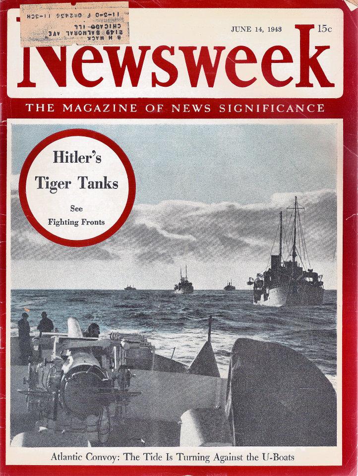 Newsweek Vol. XXI No. 24