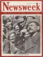 Newsweek Vol. XXIII No. 3 Magazine