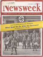 Newsweek Vol. XXIV No. 15 Magazine