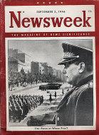 Newsweek Vol. XXVIII No. 10 Magazine
