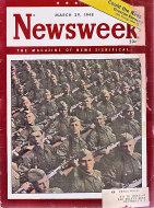 Newsweek Vol. XXXI No. 13 Magazine