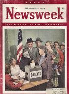 Newsweek Vol. XXXII No. 19 Magazine