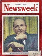 Newsweek Vol. XXXIII No. 6 Magazine