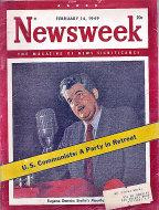 Newsweek Vol. XXXIII No. 7 Magazine