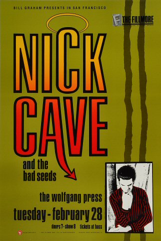 Nick Cave & the Bad Seeds Poster