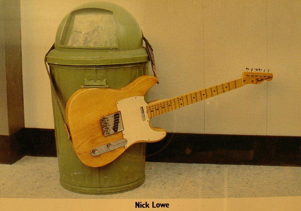 Nick Lowe Postcard