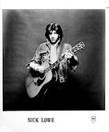 Nick Lowe Promo Print