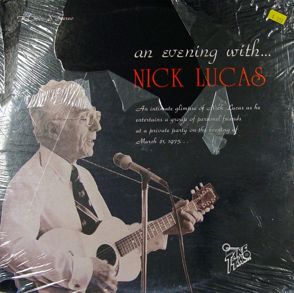 "Nick Lucas Vinyl 12"" (New)"