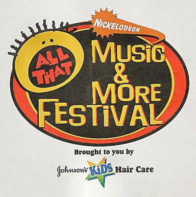 Nickelodeon All That Music and More Festival Sticker
