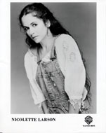 Nicolette Larson Promo Print