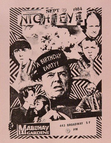 Night Eye Handbill