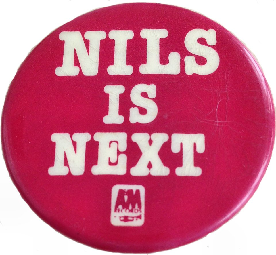 Nils Is Next Pin
