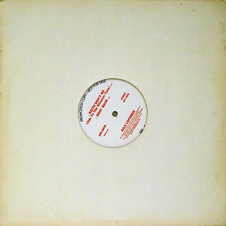 "Nils Lofgren Vinyl 12"" (Used)"