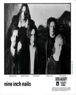 Nine Inch Nails Promo Print