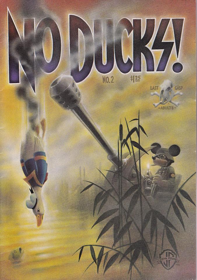 No Ducks! #2 Comic Book