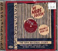 No More Doggin': Vol. 1 (1950-1953) CD