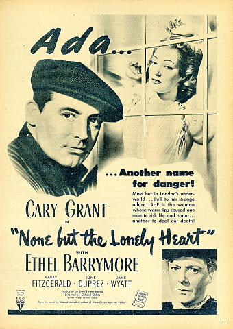 None But The Lonely Heart Vintage Ad