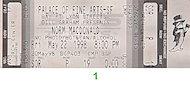 Norm MacDonald Vintage Ticket