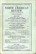 North American Review 4/1/1892 Magazine