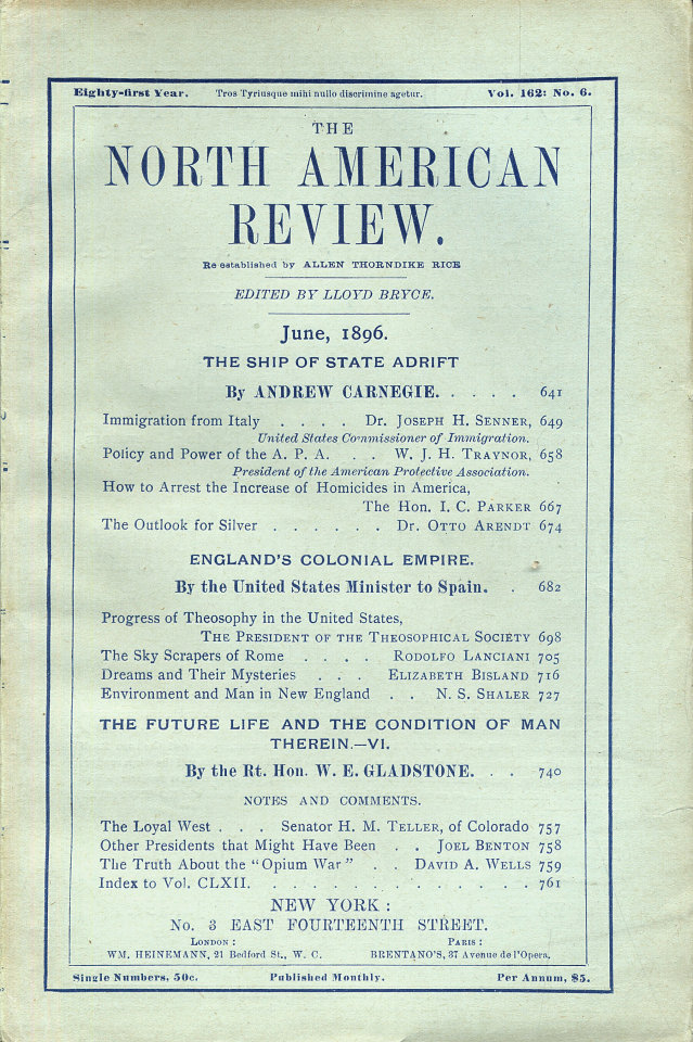 North American Review 6/1/1896