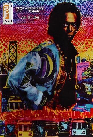 North Beach Jazz Festival 75th Anniversary Tribute Poster