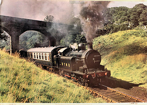 North Yorkshire Moors Railway No. 5 Poster