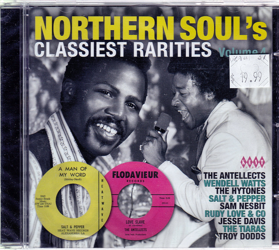Northern Soul's Classiest Rarities: Volume 4 CD