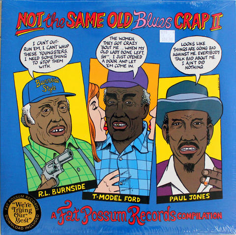 "Not The Same Old Blues Crap II Vinyl 12"" (New)"