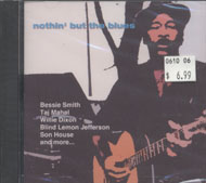 Nothin' But The Blues CD