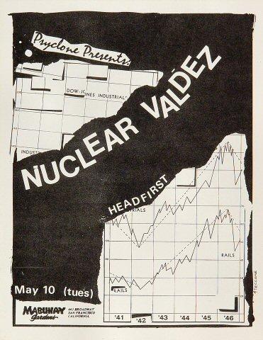 Nuclear Valdez Handbill